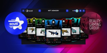Scuti and Reality Gaming Group enable game devs to sell NFTs in their stores