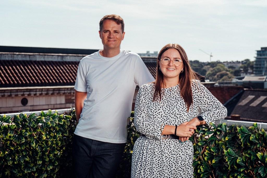 Talewind founders Mike Allender and Georgina Felce.