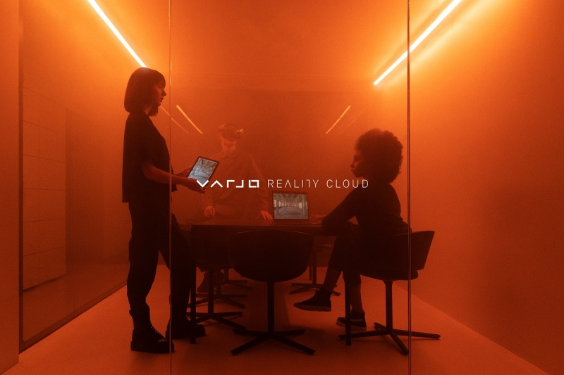 Varjo is unveiling its way to teleport to virtual spaces today.