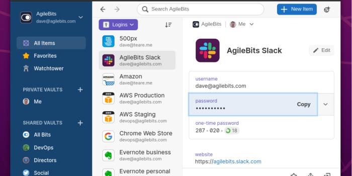 1Password Linux desktop app