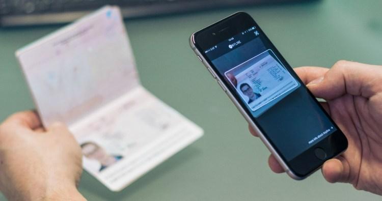Anyline: ID scanning