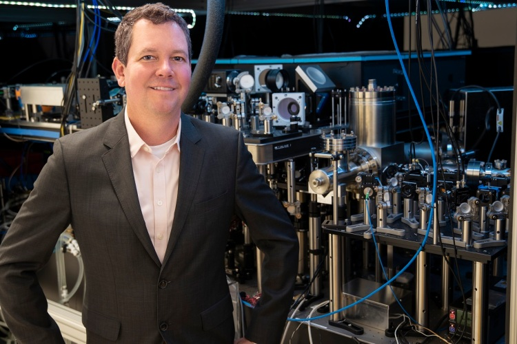 Rob Hays is CEO of Atom Computing, which is making the Phoenix quantum computing system.