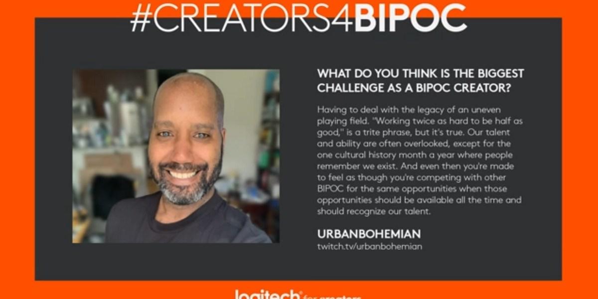 UrbanBohemian is part of Logitech's BIPOC partnering efforts.