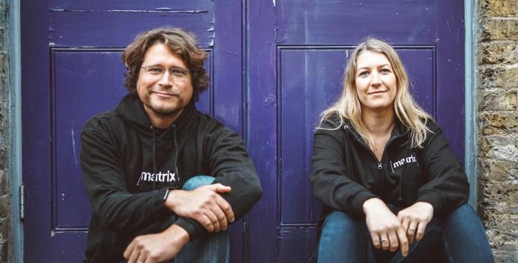 Element cofounders Co-founders Matthew Hodgson and Amandine Le Pape