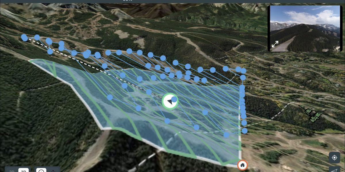 GIS software display