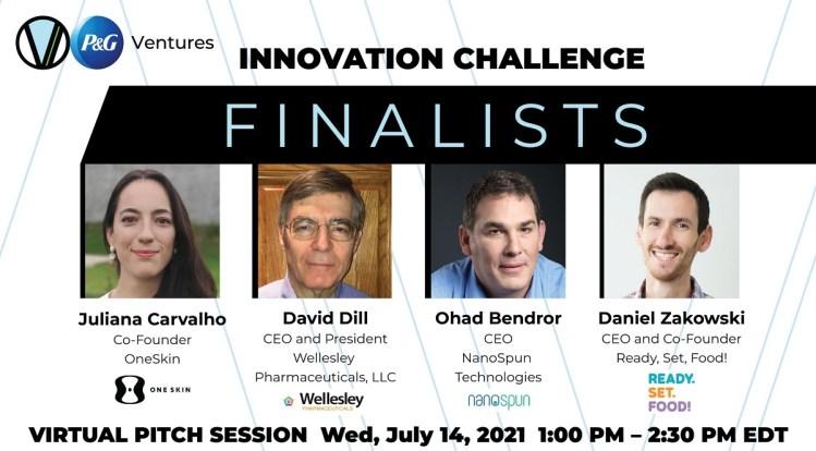 Virtual Innovation Challenge contestants.
