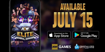 AEW Elite General Manager launches July 15 for Android and iOS