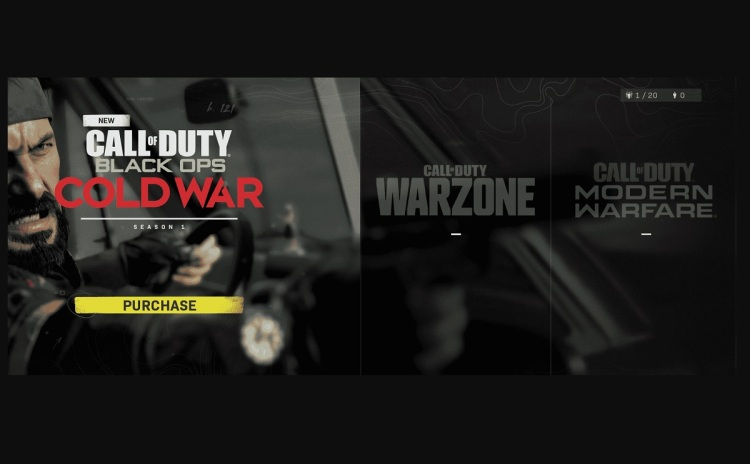 This Call of Duty opening screen gets rid of the friction out of buying the $60 game.
