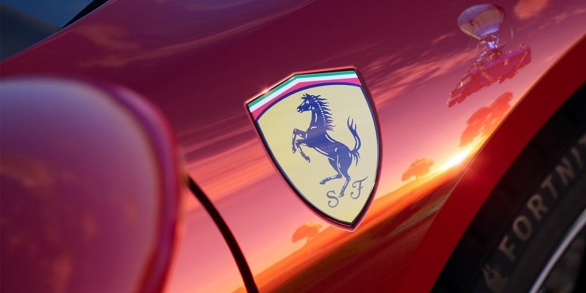 Epic Games is debuting a new Ferrari car in Fortnite.