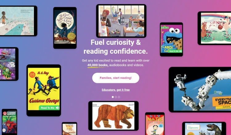 Epic has 50 million kids using its platform to learn how to read.