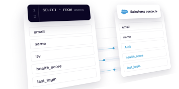 How Hightouch uses 'reverse ETL' to sync data from warehouse to SaaS apps