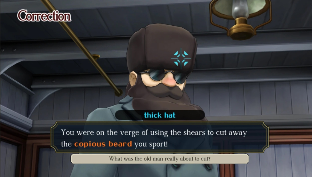 The Great Ace Attorney Chronicles -- The trials and tribulations of localization 1