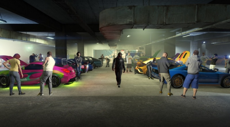 GTA Online has a combat-free social space with Los Santos Tuners.