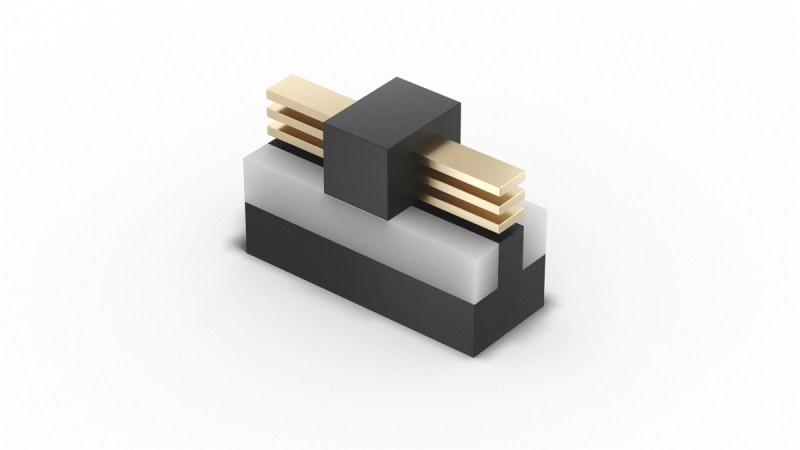 Intel transistor cross section