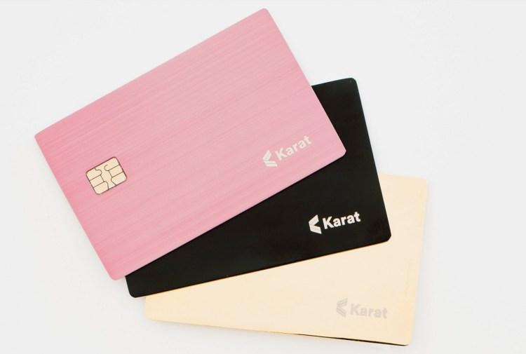 Karat makes credit cards for influencers.
