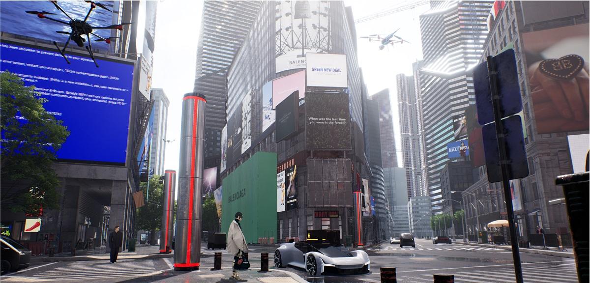 Streamline worked on Balenciaga Afterworld Streetview.