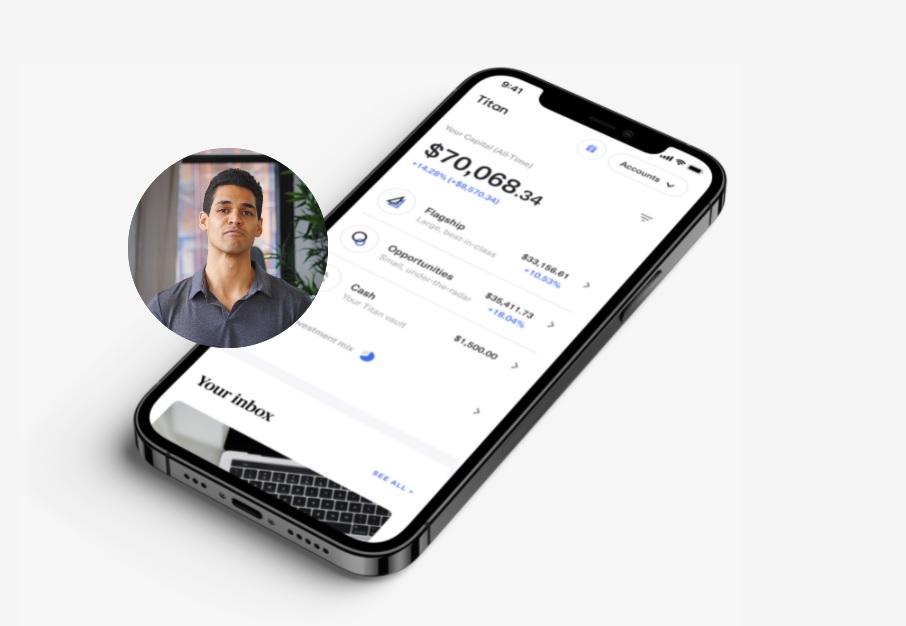 titan 2 Titan raises $58M for mobile crypto investment platform