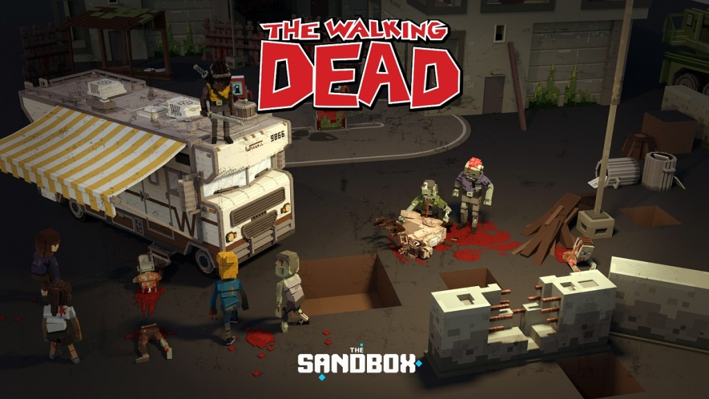 There will be bllod in The Walking Dead experience in The Sandbox.