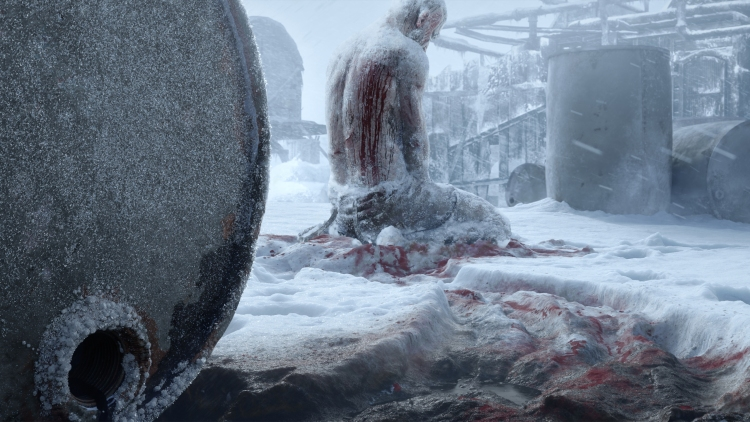 Oil and blood -- that's part of Frostpunk 2.