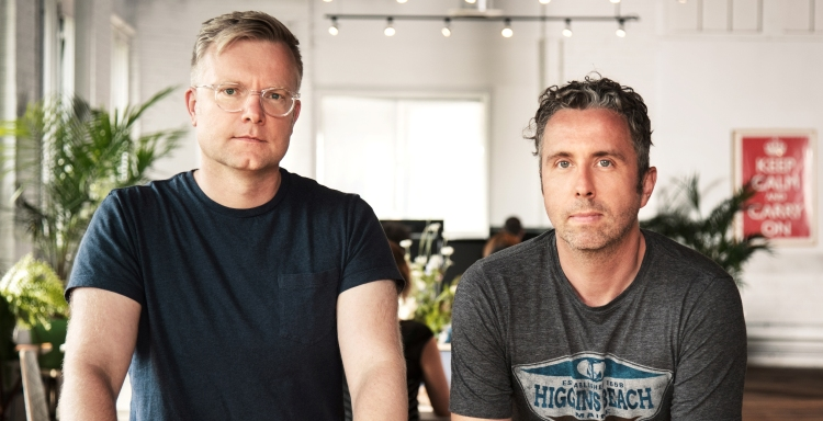Hopper cofounders, Joost Ouwerkerk & Frederic Lalonde