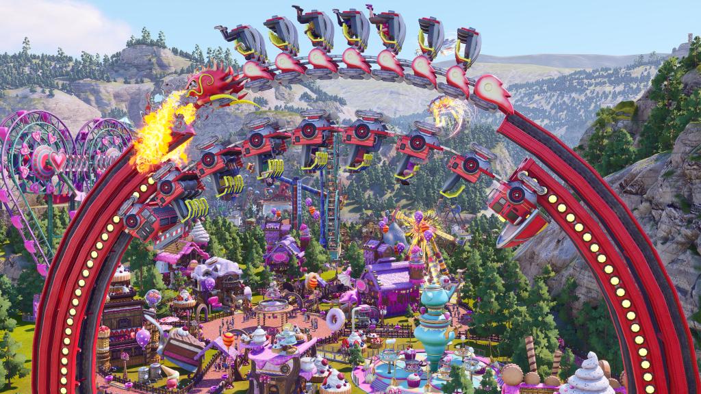 Park Beyond is Bandai Namco's upcoming amusement park sim.