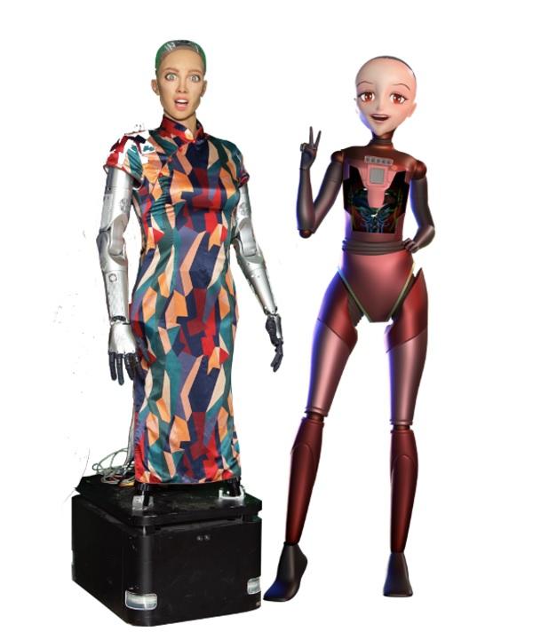 Hanson Robotics created Sophia.