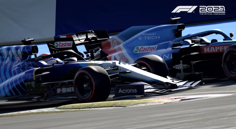 Codemasters' F1 21 debuted in July.