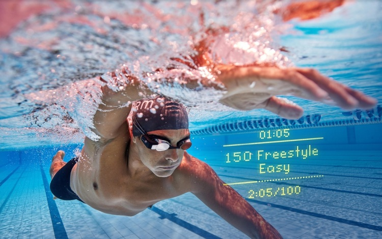 Form Smart Swim Goggles tell you your time and how many laps you've done.