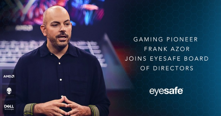 Frank Azor, chief gaming architect at AMD, has joined the board of Eyesafe.