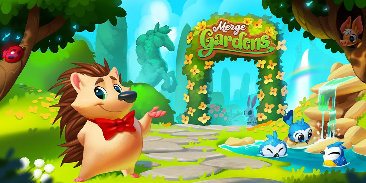 Futureplay's latest game is Merge Gardens.