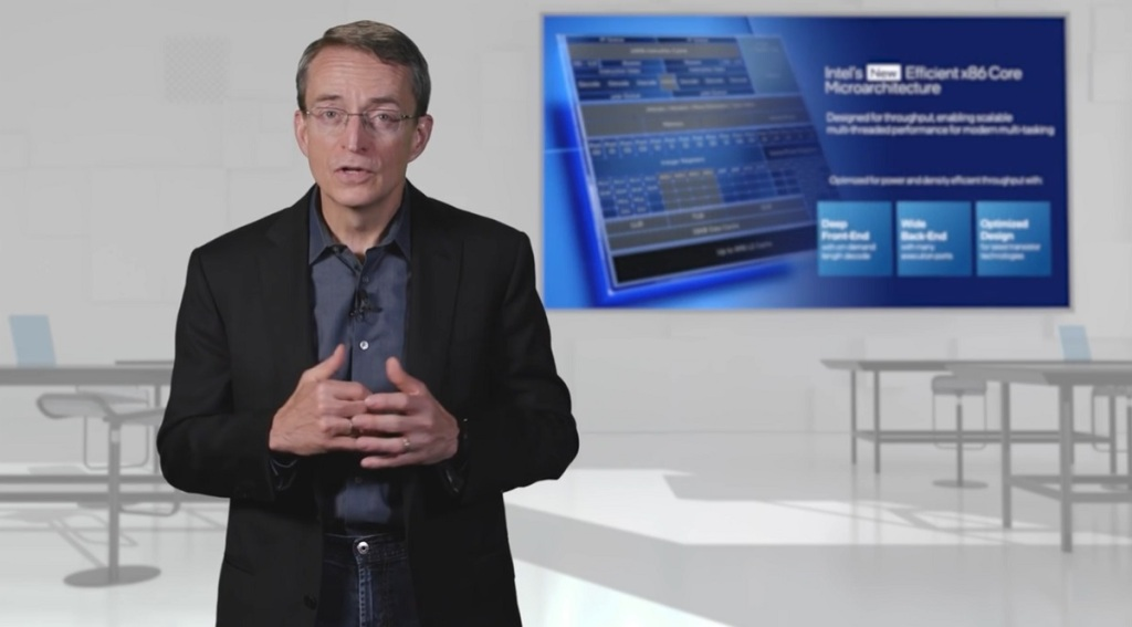 Pat Gelsinger is CEO of Intel and he's bullish on its new chip architectures.