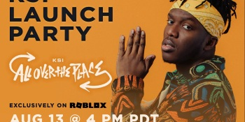 Roblox will host music launch party for hip-hop artist KSI