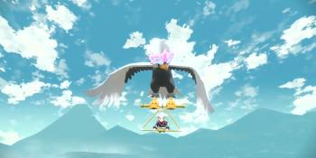 Pokémon Legends: Arceus lets you ride and glide your Pokémon
