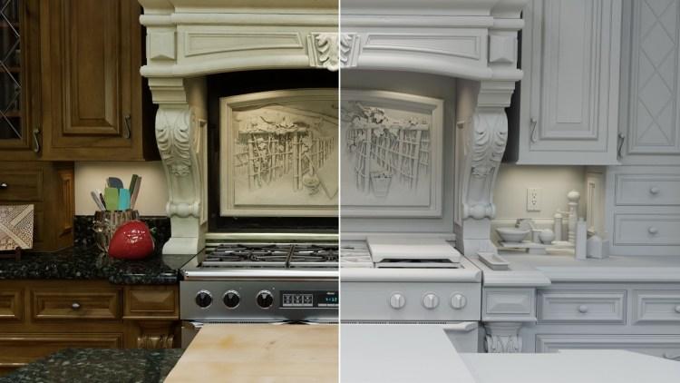 Jensen Huang's virtual kitchen was really virtual.