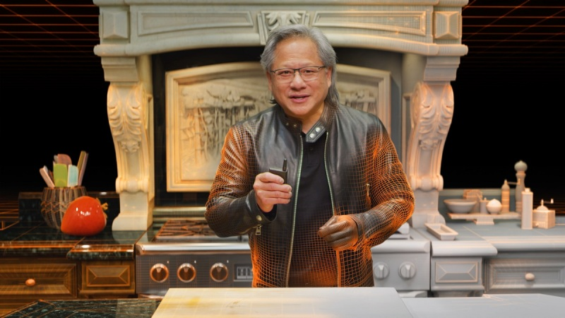Jensen Huang is CEO of Nvidia.