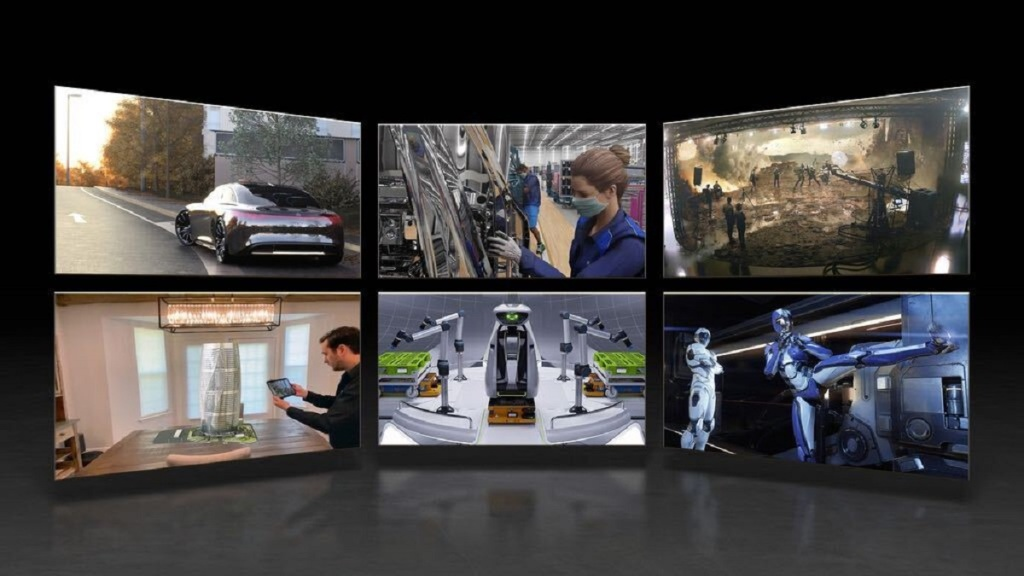 Nvidia's Omniverse is a way to collaborate in simulated worlds.