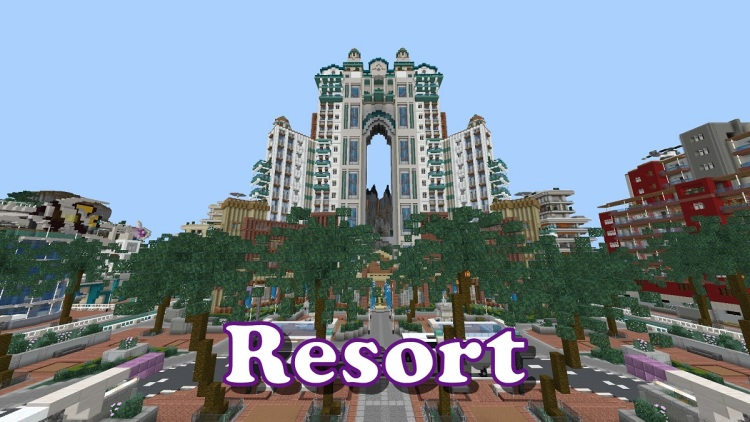 Pixel Paradise has attractions for Minecraft fans.