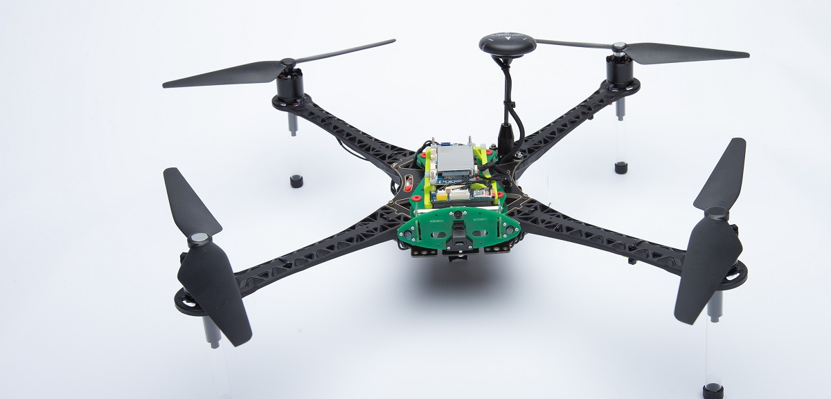 Qualcomm Flight 4B5 drone