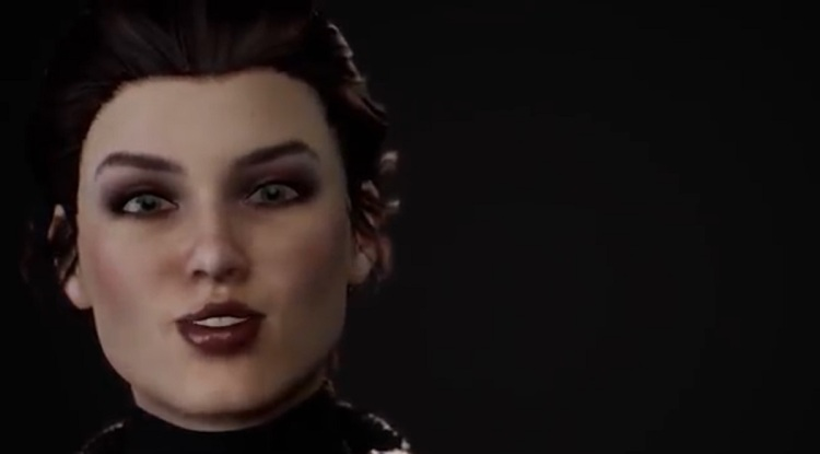 Katherine is a Sensorium avatar, a virtual being driven by GPT-3 AI.