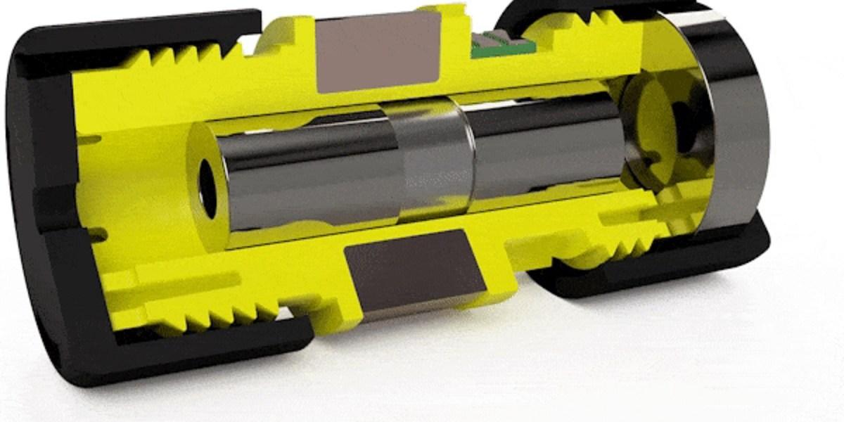Titan Haptic's magnetic actuators.