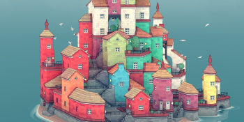Townscaper — the chill city-design game — is out now on Switch