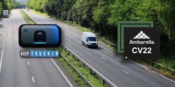 KeepTruckin uses Ambarella AI chips to monitor truck drivers