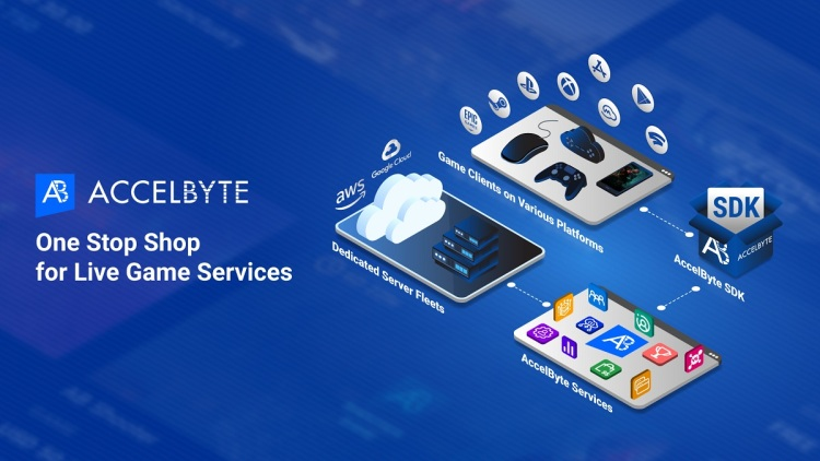 AccelByte is a one-stop shop for game live services.