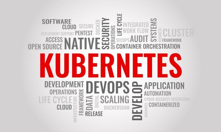 Kubernetes word cloud