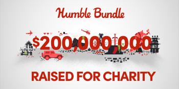 Humble Bundle has raised $200 million for charitable causes