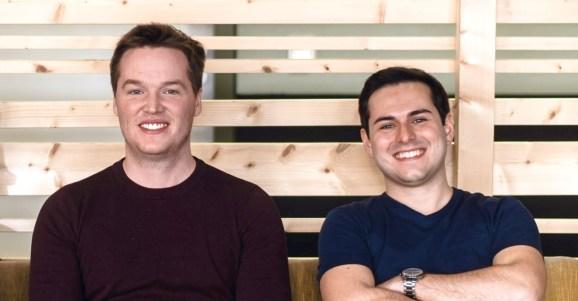 Loft Labs founders: CTO Fabian Kramm CTO (left) with CEO Lukas Gentele