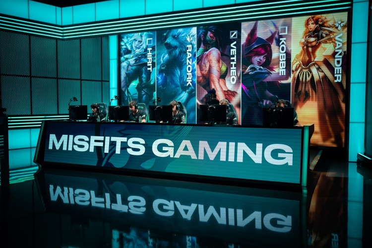 Misfits Gaming Group is moving into media and content creation.