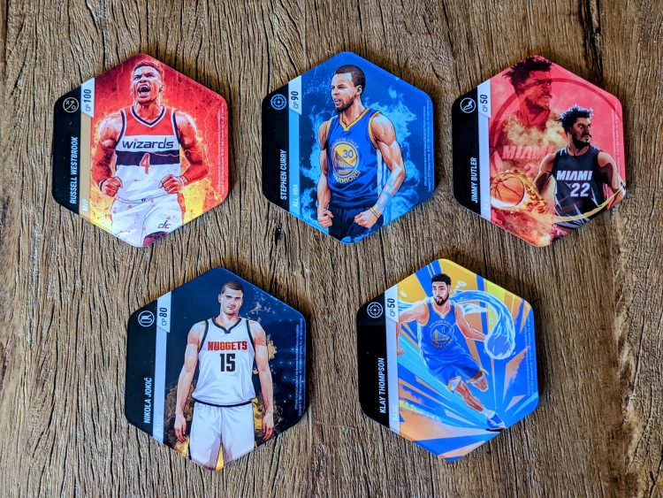 NBA uses tokens to make its mix of strategy game and AR work.