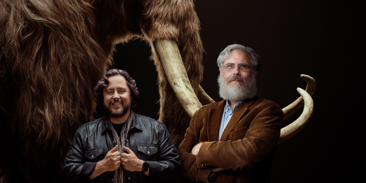 Colossal cofounders Ben Lamm (left) and George Church (right)