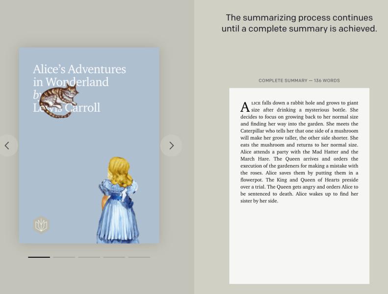 Resúmenes de libros de OpenAI